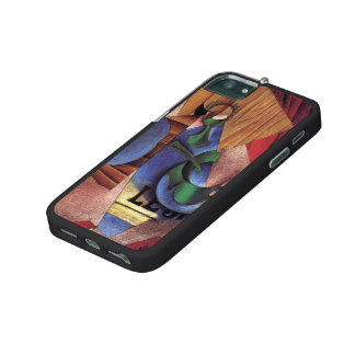 Juan Gris- Glass, Cup and Newspaper iPhone 5 Case