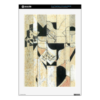 Juan Gris - Guitar and glass Decals For PS3