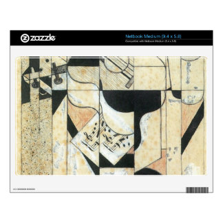 Juan Gris - Guitar and glass Skin For Medium Netbook