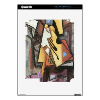 Juan Gris - Guitar and stool Skin For iPad 2
