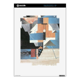 Juan Gris - Guitar on a table Decal For The iPad 2