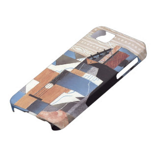 Juan Gris- Guitar on the Table iPhone 5 Cover