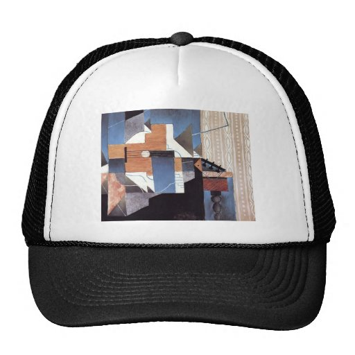 Juan Gris- Guitar on the Table Hat
