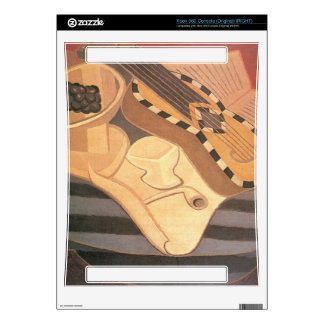 Juan Gris - Guitar with ornaments Xbox 360 Console Decals