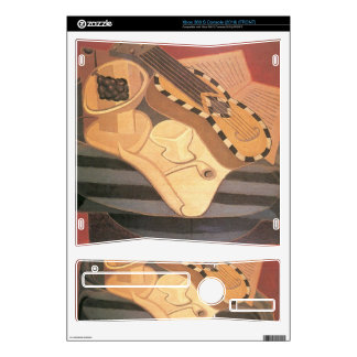 Juan Gris - Guitar with ornaments Xbox 360 S Skins