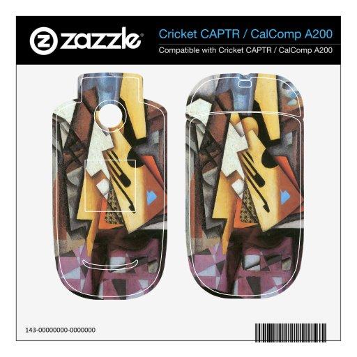 Juan Gris - guitarra y taburete Skins Para Cricket CAPTR