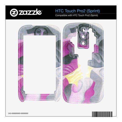 Juan Gris - Harlequan que se sienta HTC Touch Pro2 Skins
