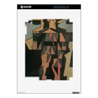 Juan Gris - Harlequan Skins For iPad 2