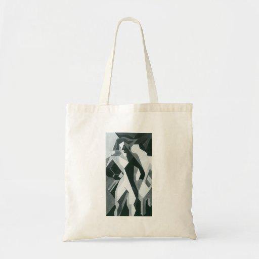 Juan Gris - Harlequan with Stool Canvas Bag