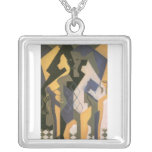 Juan Gris - Harlequin with table Pendant