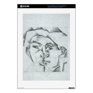 Juan Gris - Head of a man (head of a woman) PS3 Decal