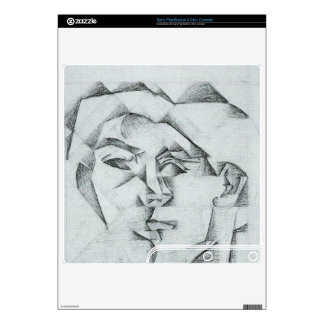 Juan Gris - Head of a man (head of a woman) Skin For The PS3 Slim