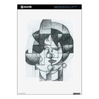 Juan Gris - Head of Germaine Raynal Decal For iPad 3