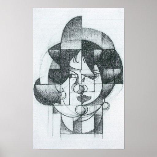Juan Gris - Head of Germaine Raynal Poster