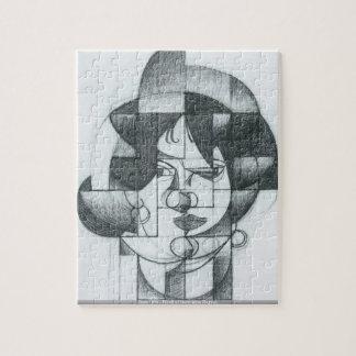 Juan Gris - Head of Germaine Raynal puzzle