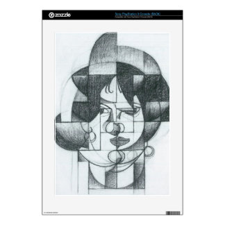 Juan Gris - Head of Germaine Raynal PS3 Console Decals