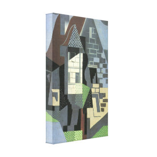 Juan Gris - Houses in Beaulieu Gallery Wrapped Canvas