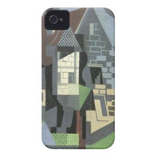 Juan Gris - Houses in Beaulieu iPhone 4 Case-Mate Case