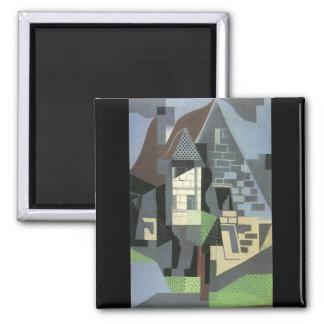 Juan Gris - Houses in Beaulieu Magnets