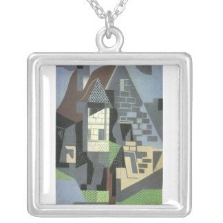 Juan Gris - Houses in Beaulieu Personalized Necklace
