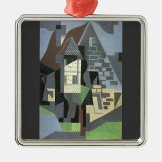Juan Gris - Houses in Beaulieu Christmas Tree Ornaments