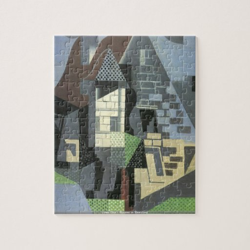 Juan Gris - Houses in Beaulieu PUZZLE