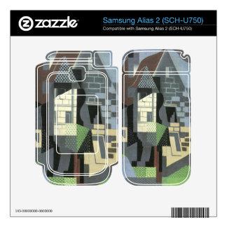 Juan Gris - Houses in Beaulieu Skins For Samsung Alias 2