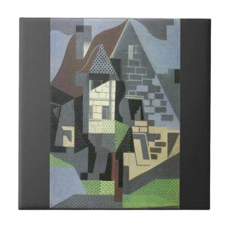 Juan Gris - Houses in Beaulieu Tile