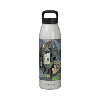 Juan Gris - Houses in Beaulieu Reusable Water Bottles
