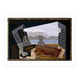 Juan Gris la ventana abierta Tarjeta Postal