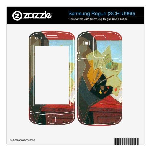 Juan Gris - la ventana del pintor Samsung Rogue Skins