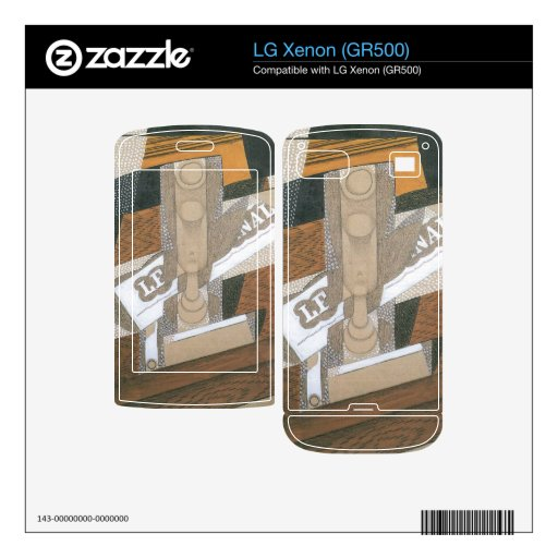 Juan Gris - Light up Decal For The LG Xenon
