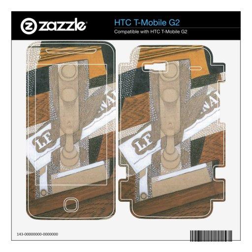 Juan Gris - Light up HTC T-Mobile G2 Decals
