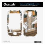 Juan Gris - Light up Samsung Flight Decal