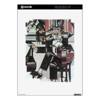 Juan Gris - Man in Cafe Skins For iPad 2