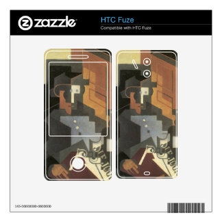 Juan Gris - Men from the Tourraine Skins For The HTC Fuze