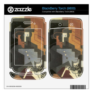 Juan Gris - Men from the Tourraine Skin For BlackBerry Torch