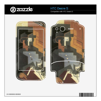 Juan Gris - Men from the Tourraine HTC Desire S Decals