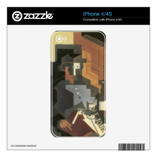 Juan Gris - Men from the Tourraine Skin For iPhone 4S