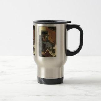 Juan Gris - Men from the Tourraine Travel Mug