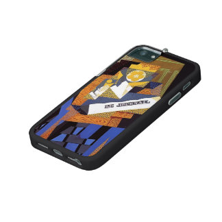 Juan Gris- Newspaper and Fruit Dish Case For iPhone 5/5S