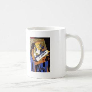 Juan Gris- Newspaper and Fruit Dish Mug