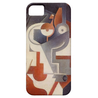 Juan Gris- Newspaper, Glass and Pear iPhone 5 Cover