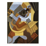 Juan Gris- Pedistal Table in front of the Window Postcard
