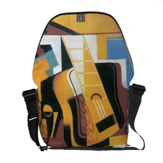 Juan Gris - Photograph of The Guitar Abstract Art Messenger Bag