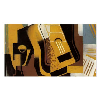 Juan Gris- Photograph of The Guitar Double-Sided Standard Business Cards (Pack Of 100)