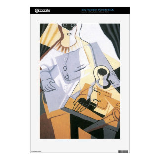 Juan Gris - Pierrot Decals For The PS3