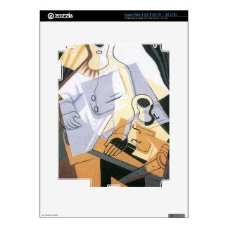 Juan Gris - Pierrot iPad 3 Decals