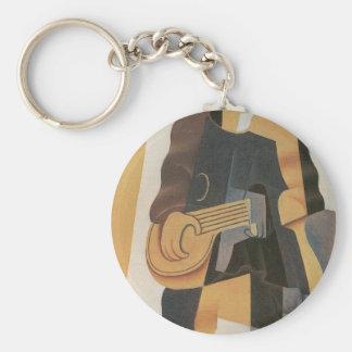 Juan Gris - Pierrot Key Chains