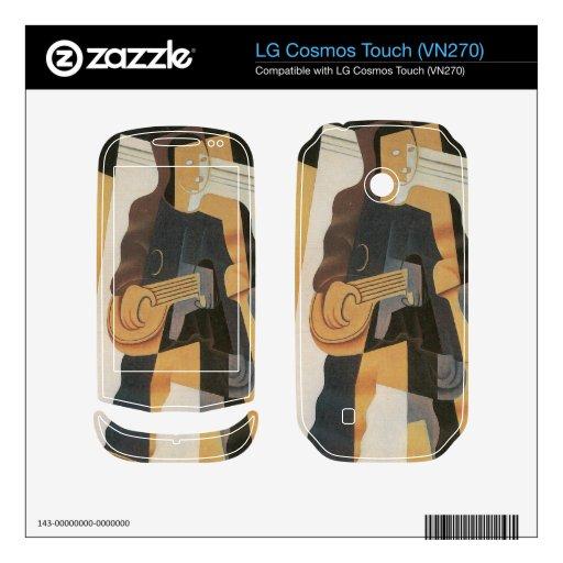 Juan Gris - Pierrot LG Cosmos Touch Skin